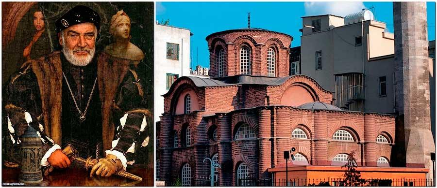 Семейная усыпальница Лакапинов в Константинополе (Церковь монастыря Мирелейон)