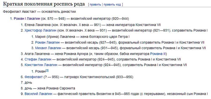 Феофилакта Авастакта
