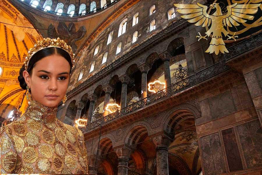 мператрица Елена Романова (жена императора Константина Багрянородного)
