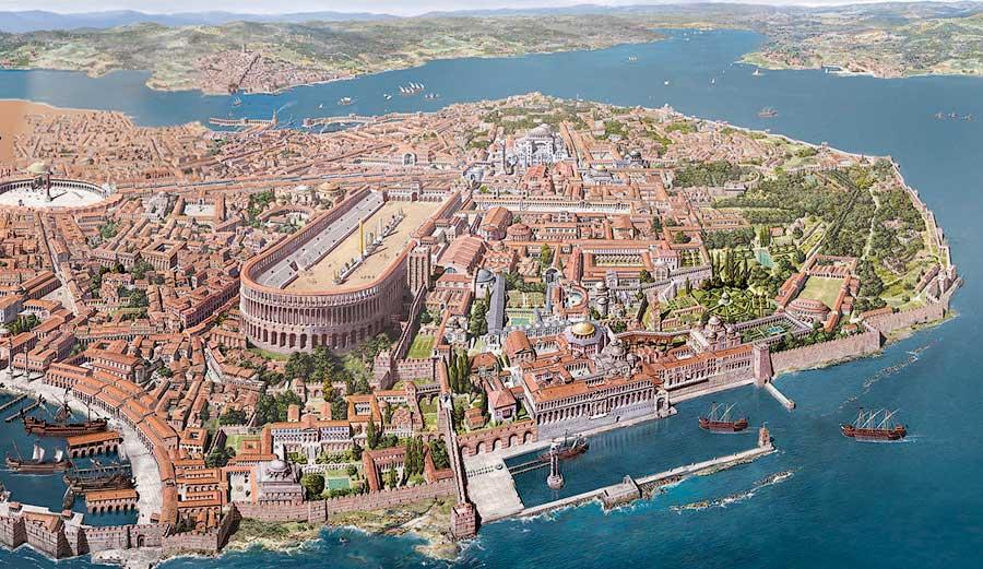 Реконструкция (план) Константинополя