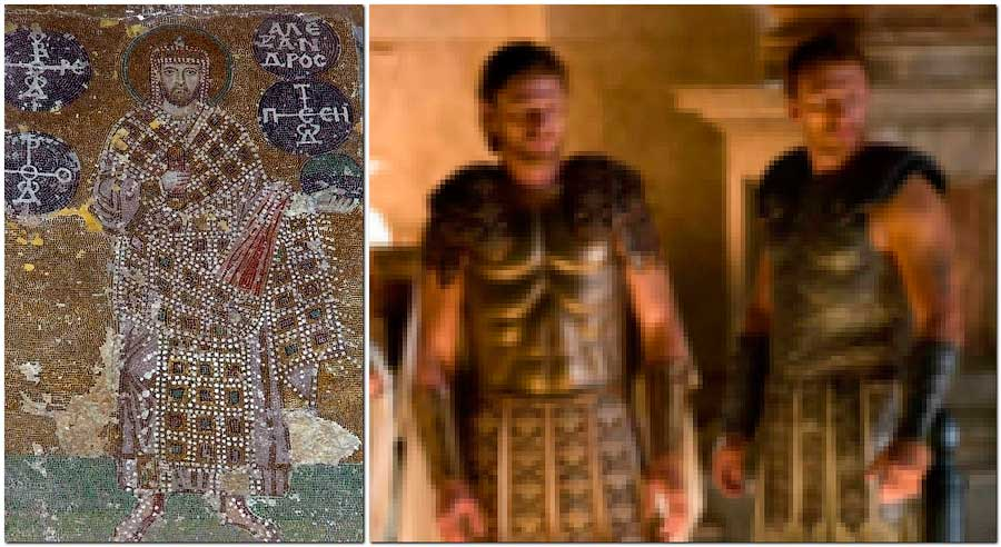 Изображение императора Александра