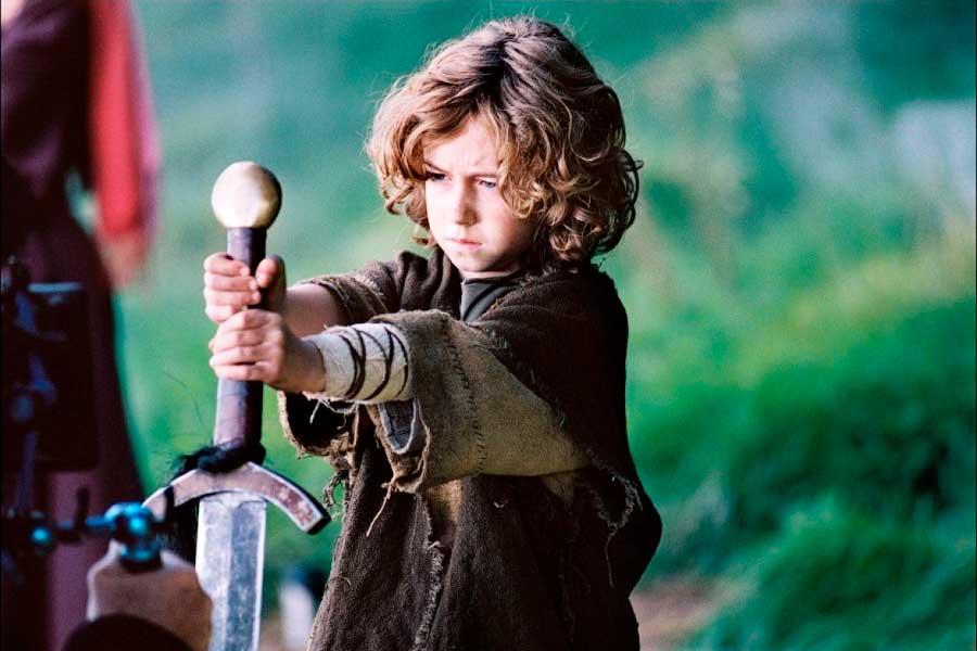 Славный воин Рюрик в детстве