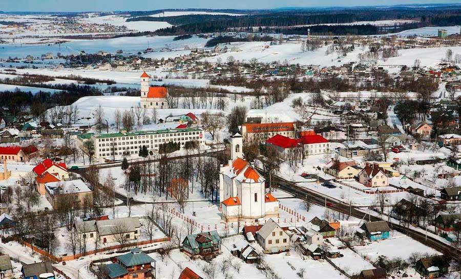 Беларуский город Заславль