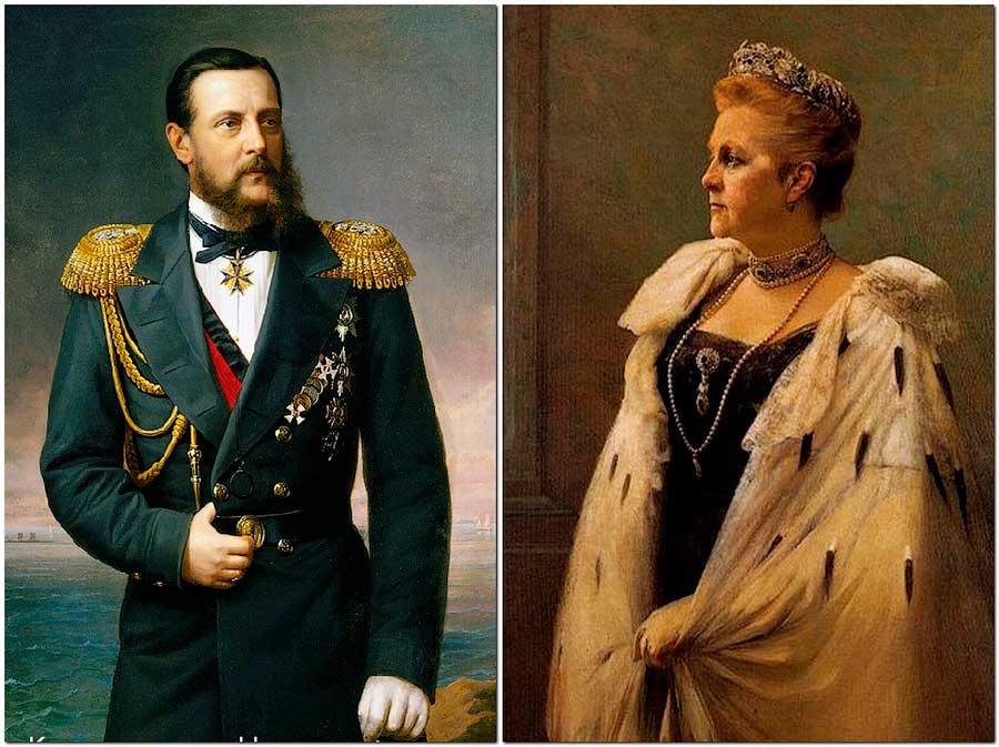 Константин Романов и Ольга