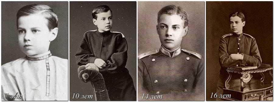 Фото князя Вячеслава Романова в разном возрасте