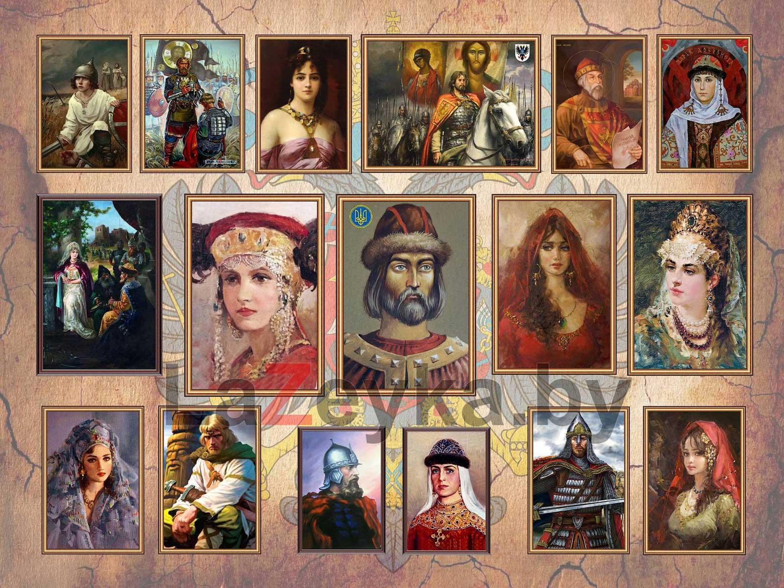 Семья Владимира I Святославича