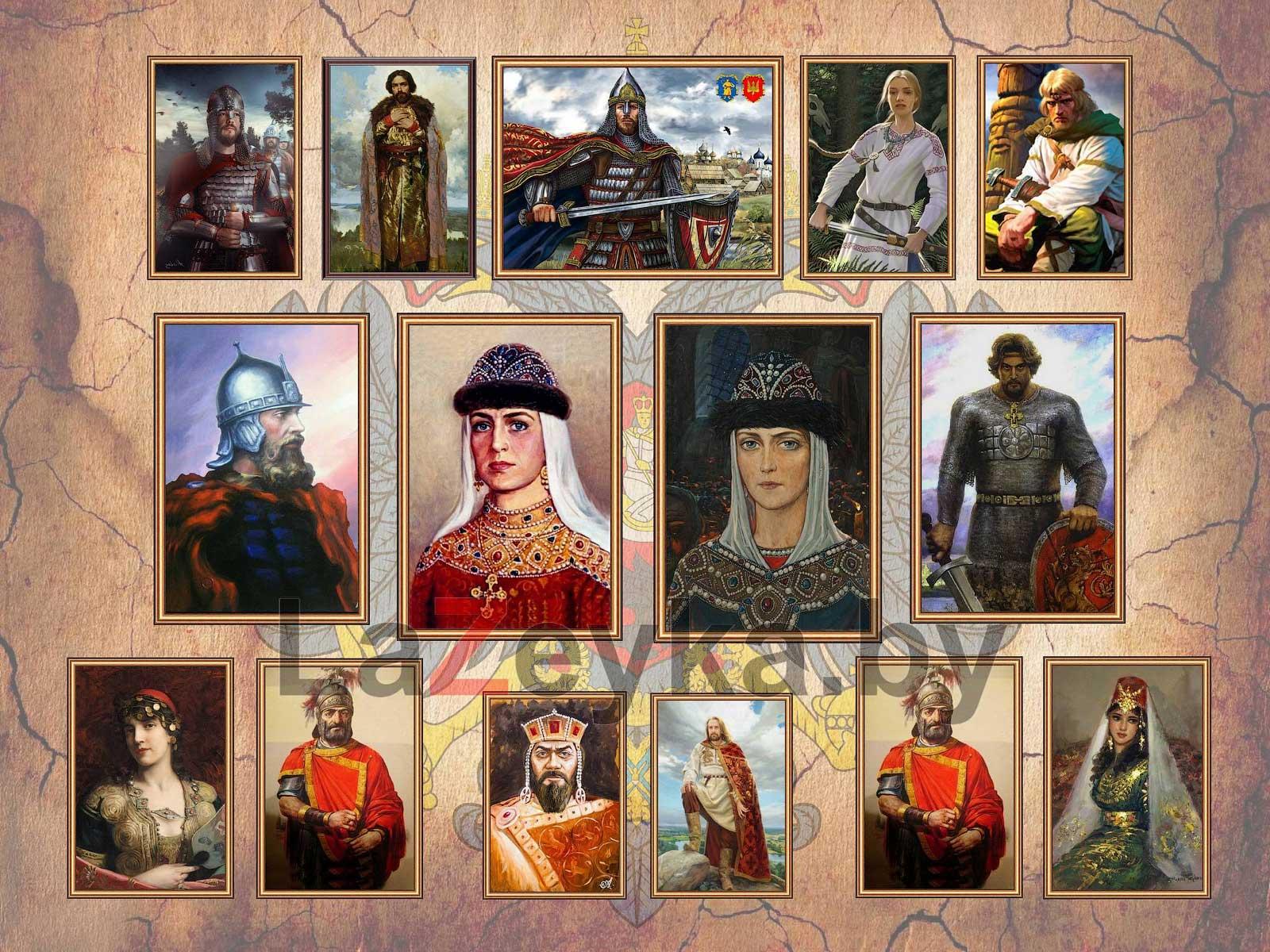 Семья Игоря I Киевского и Игоря II Черниговского