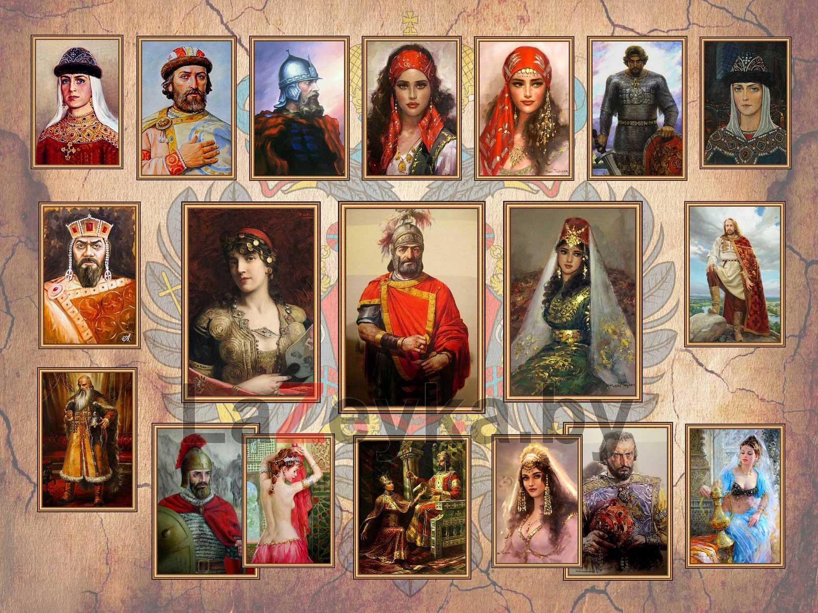 Родители двух Игорей (семья Романа I Лакапина)