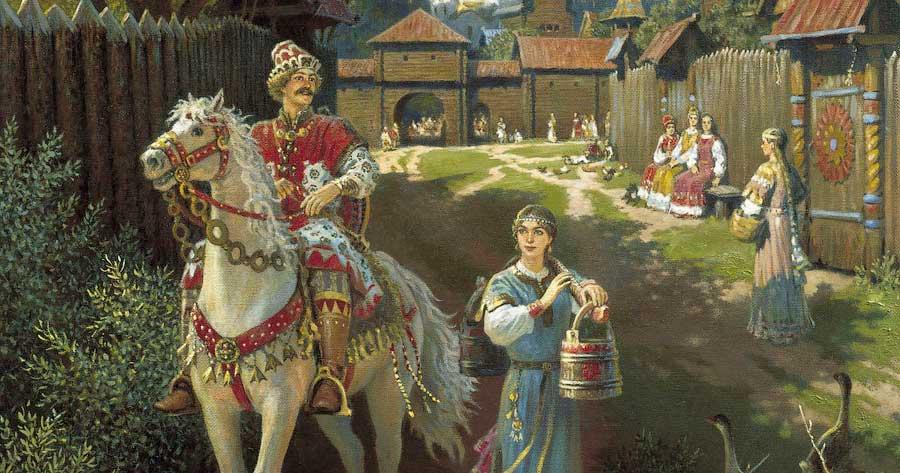 Семья первого Святослава