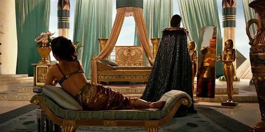 Спальня римского императора 1700 лет назад