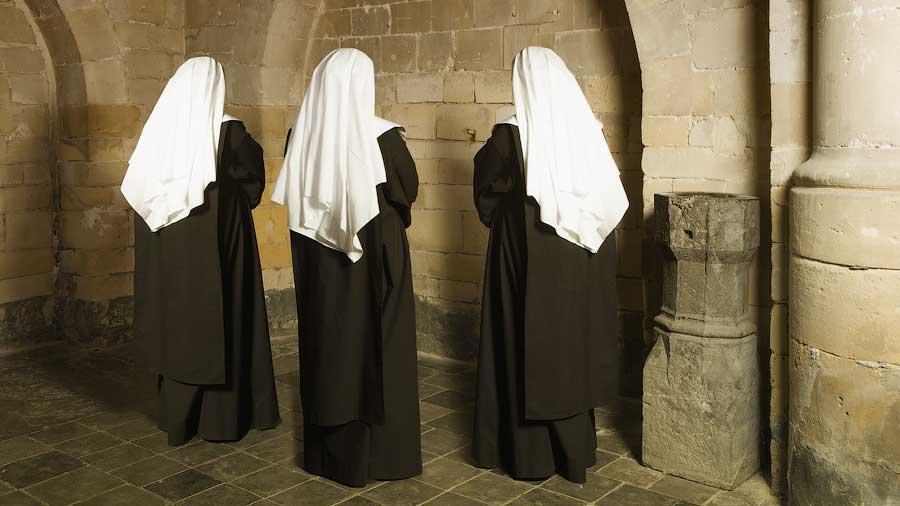 Монашки в монастыре Святой Евфимии в Petrion