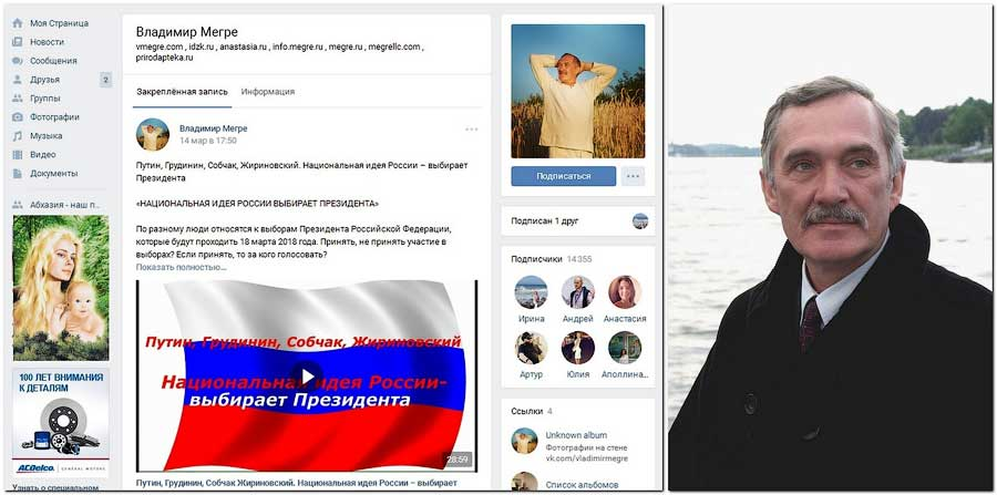 Группа «Владимир Мегре»