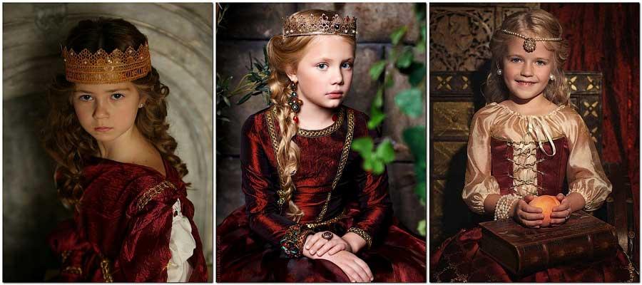 Три маленькие «Багрянородные» царевны