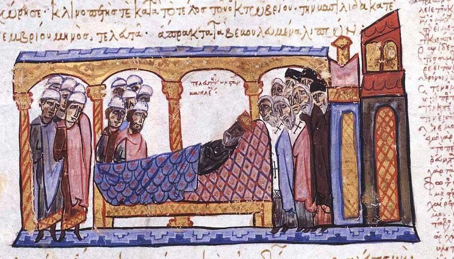 смерть императора Константина