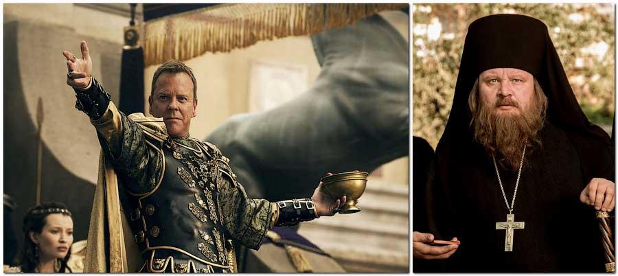 Император Никифор Фока и его друг Афанасий