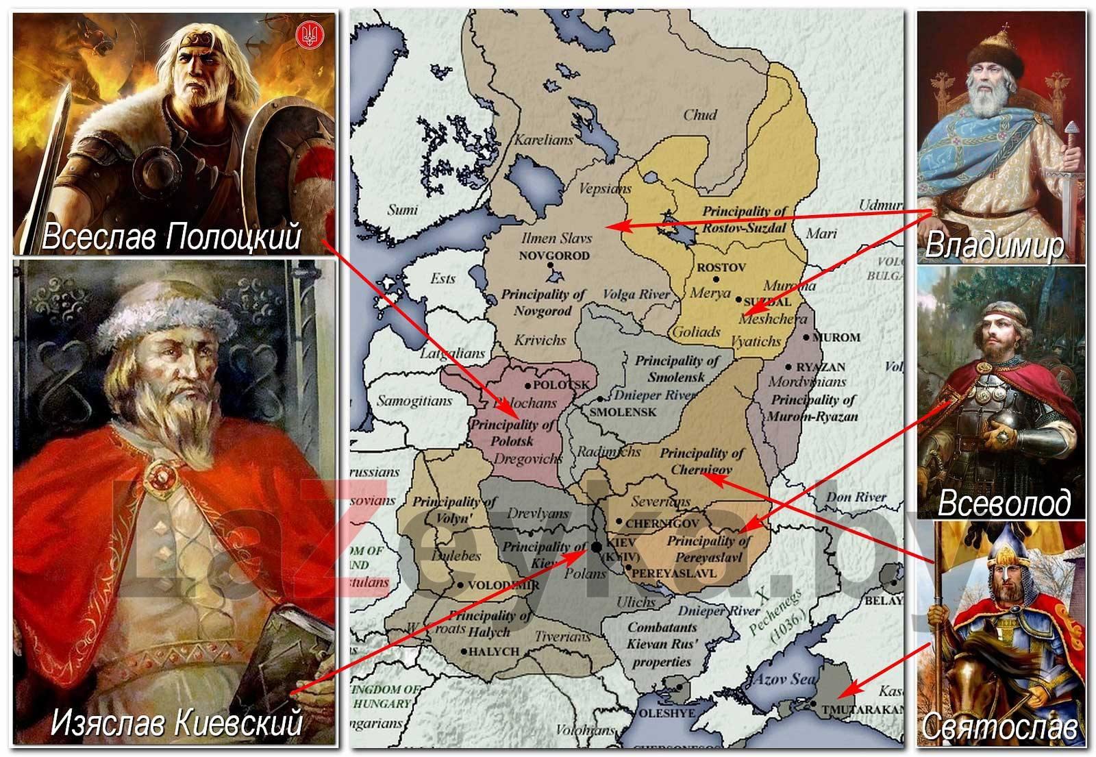 Потомки князя Владимира Крестителя