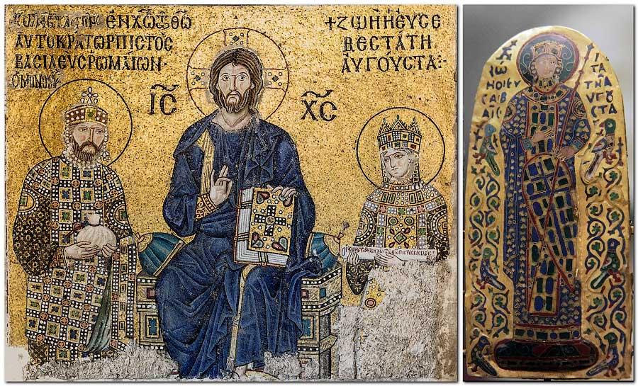 Мозаика в храме Святой Софии