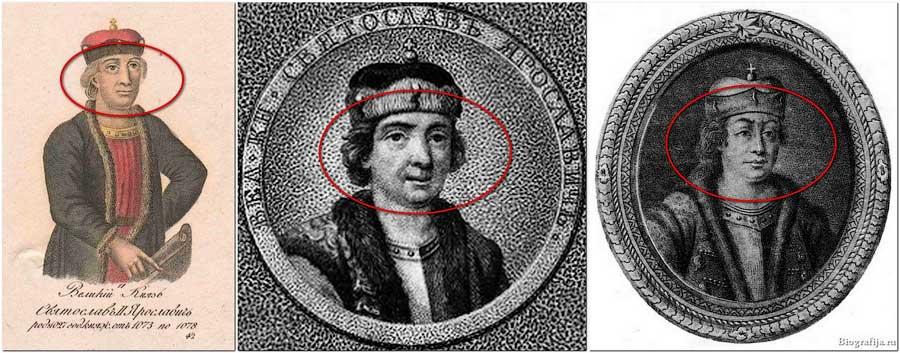 Образ Святослава времен династии Романовых